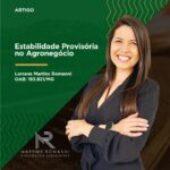 Estabilidade provisória no Agronegócio